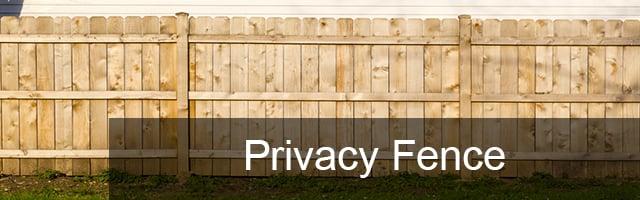 Privacy Fences Cedar Pickets Rmfp