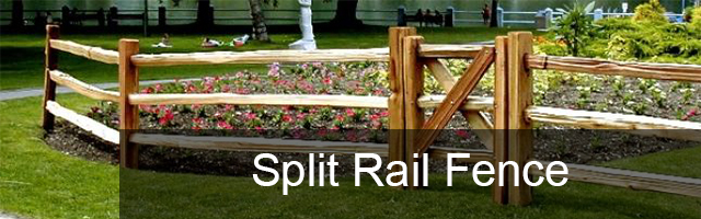 Split Rail Fence Rocky Mountain Forest Products