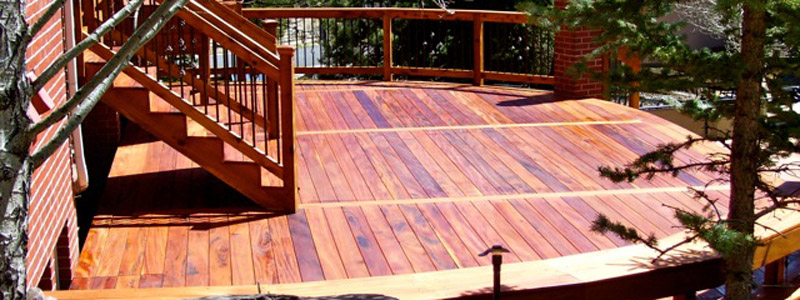 Buy Mahogany Decks in Denver