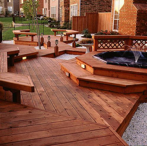 Knowing The Different Grades Of Redwood Decking