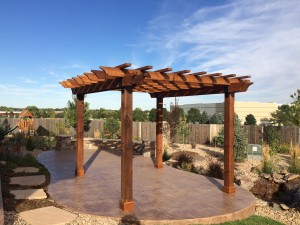 Feature Friday: Dave's Pergola Project