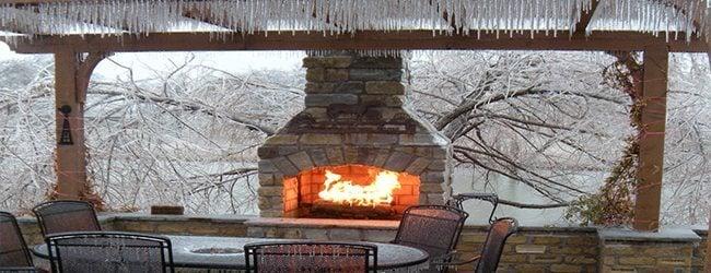 3 Consejos para mantenimiento de invierno de cocina al aire libre