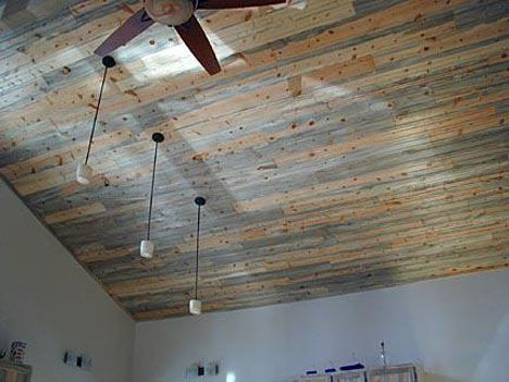 Blue Pine Ceiling Rocky Mountain Forest Products