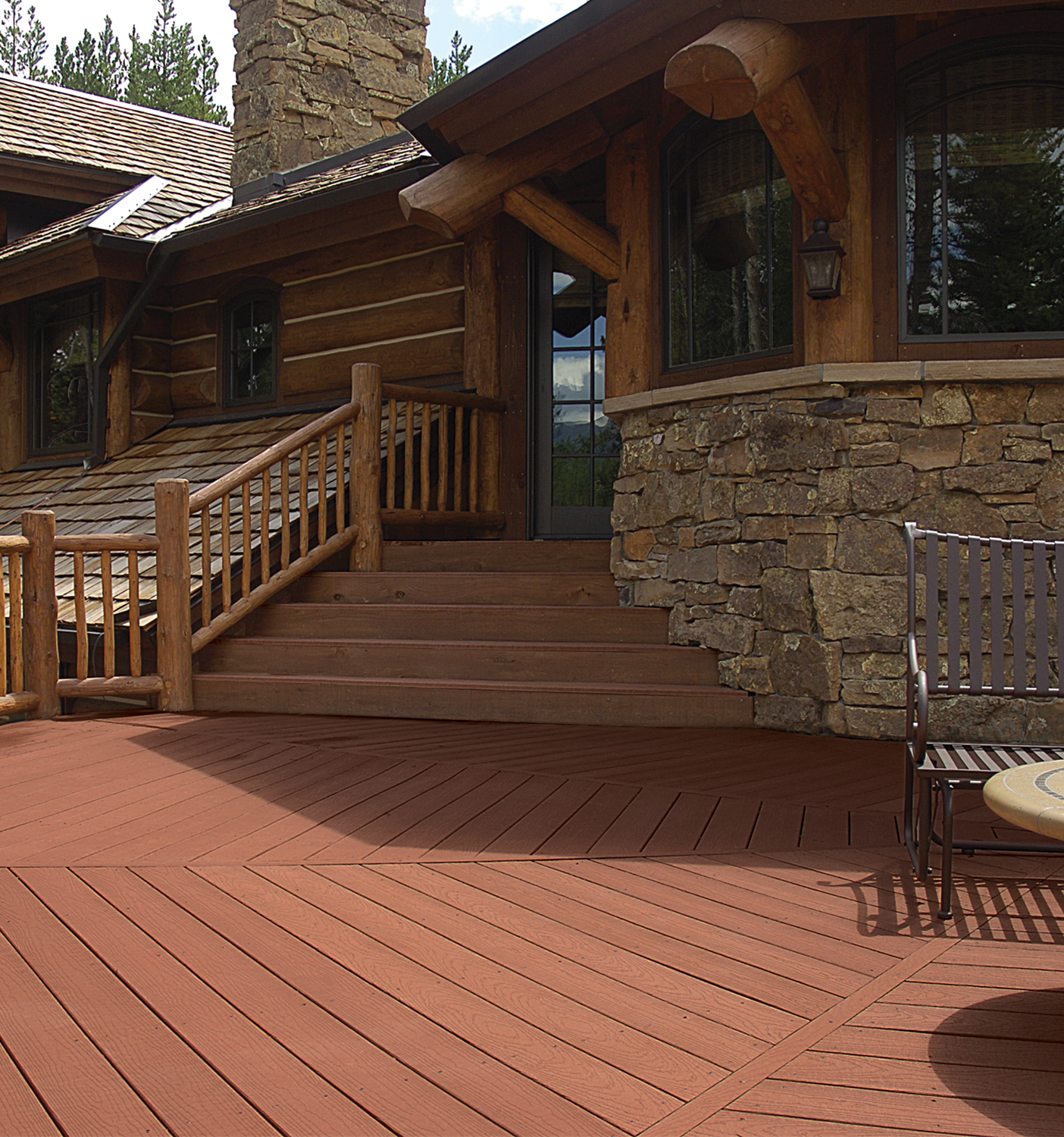 Evergrain decking vs timbertech composite which is better for Redwood vs composite decking