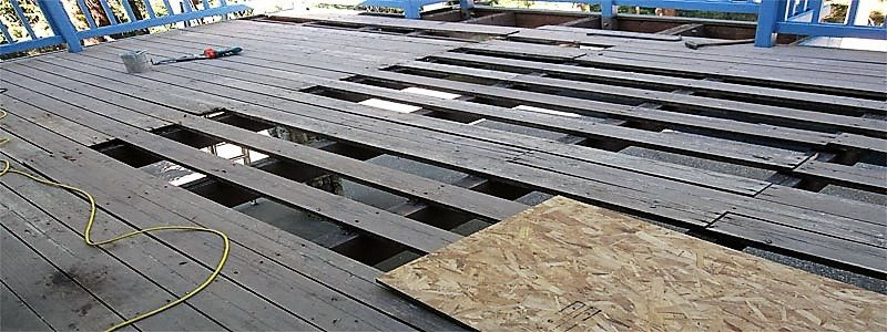 spacing of cedar deck boards