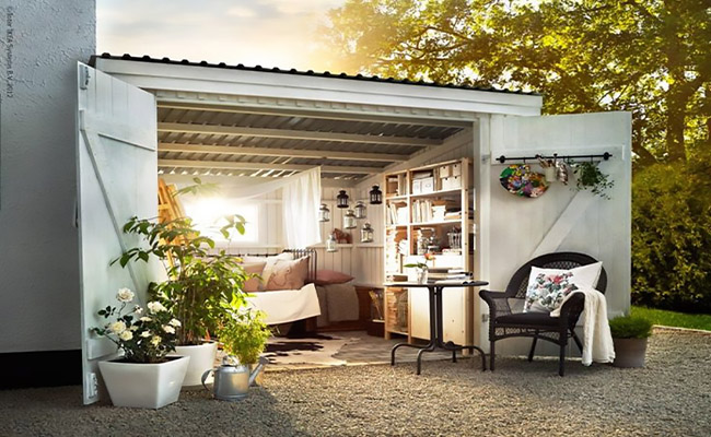 She-Shed's: The Woman's Man-Cave ... Una liberación