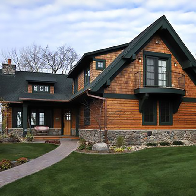 Wood Siding Has Many Different Looks