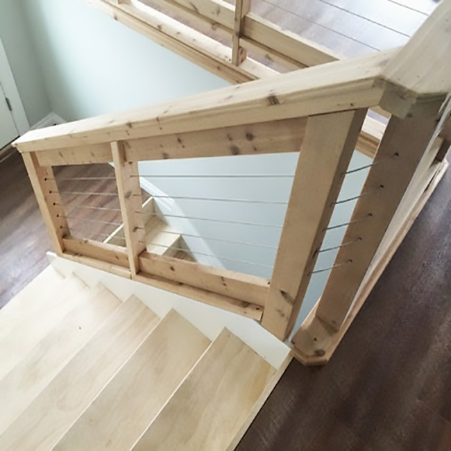 Superieur DIY/ Farmhouse Cable Railing