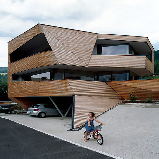 Modern Siding Takes On A Futuristic Look