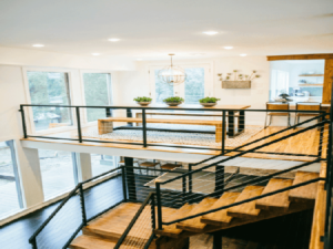 Not Just For Decks: Cable Railing Looks Even Better In Your Home