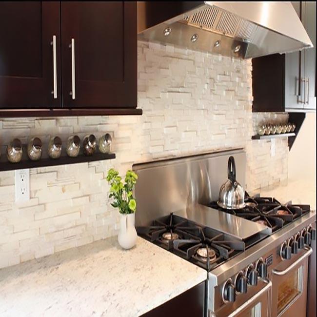 contemporary-kitchen-stacked-stone-backsplash-kitchen-decorating-ideas