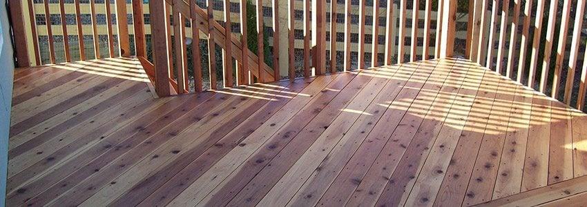 Cedar Deck Vs Pressure Treated Composite Choosing The Right