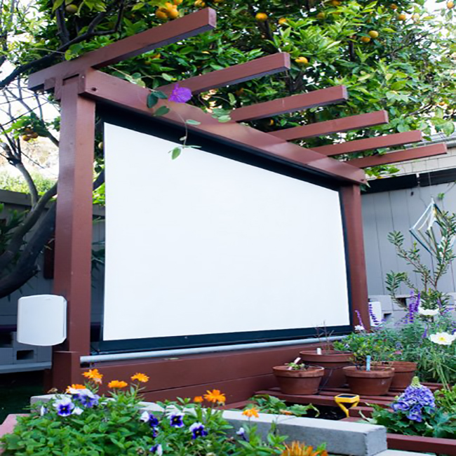 how to make an outdoor kids space