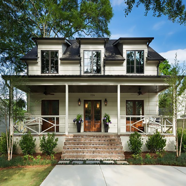 farmhouse curb appeal