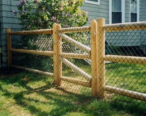 Post and Dowel Fencing in Denver