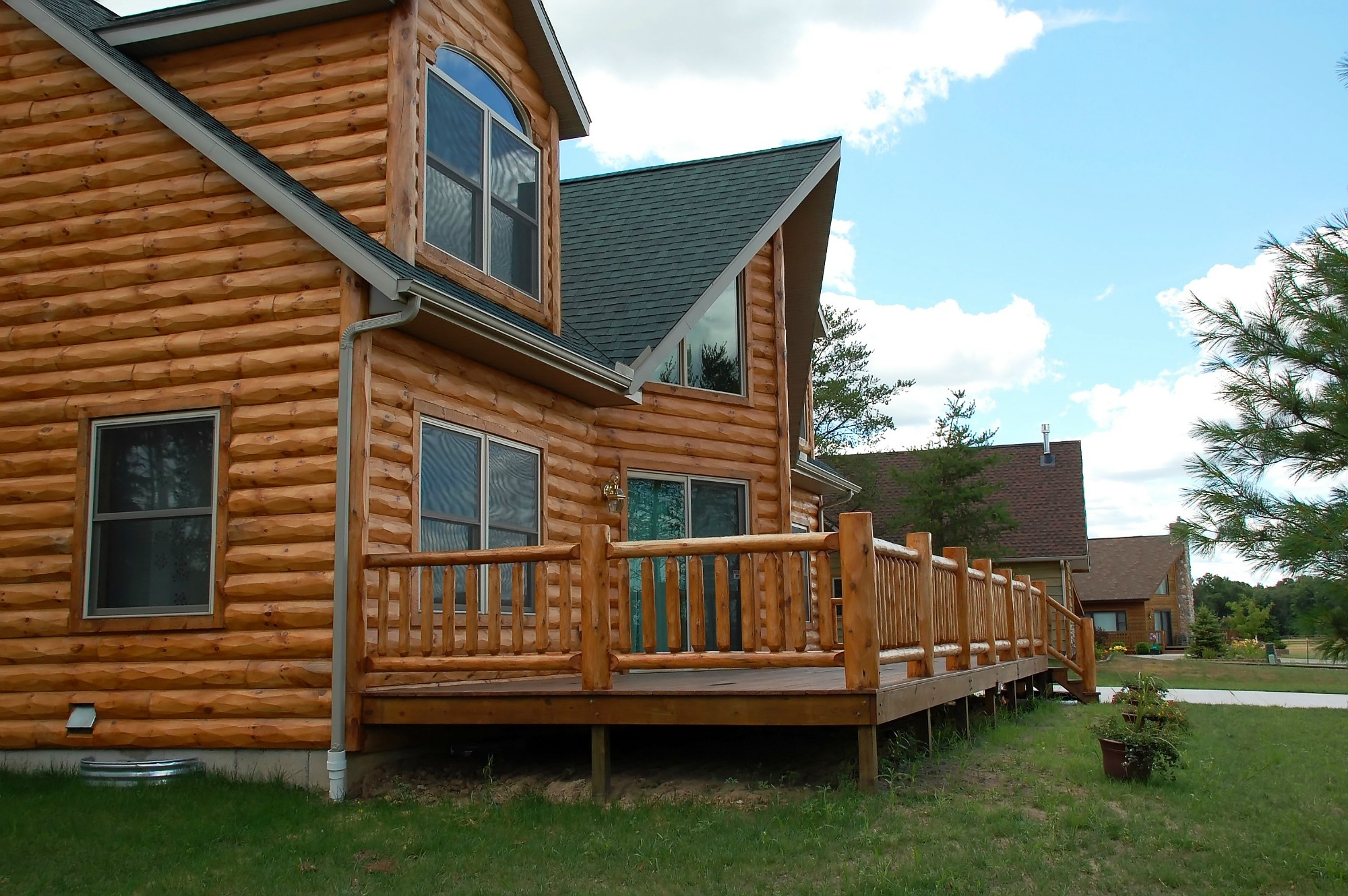 Bring The Great Outdoors To Your Home With Log Lap Siding