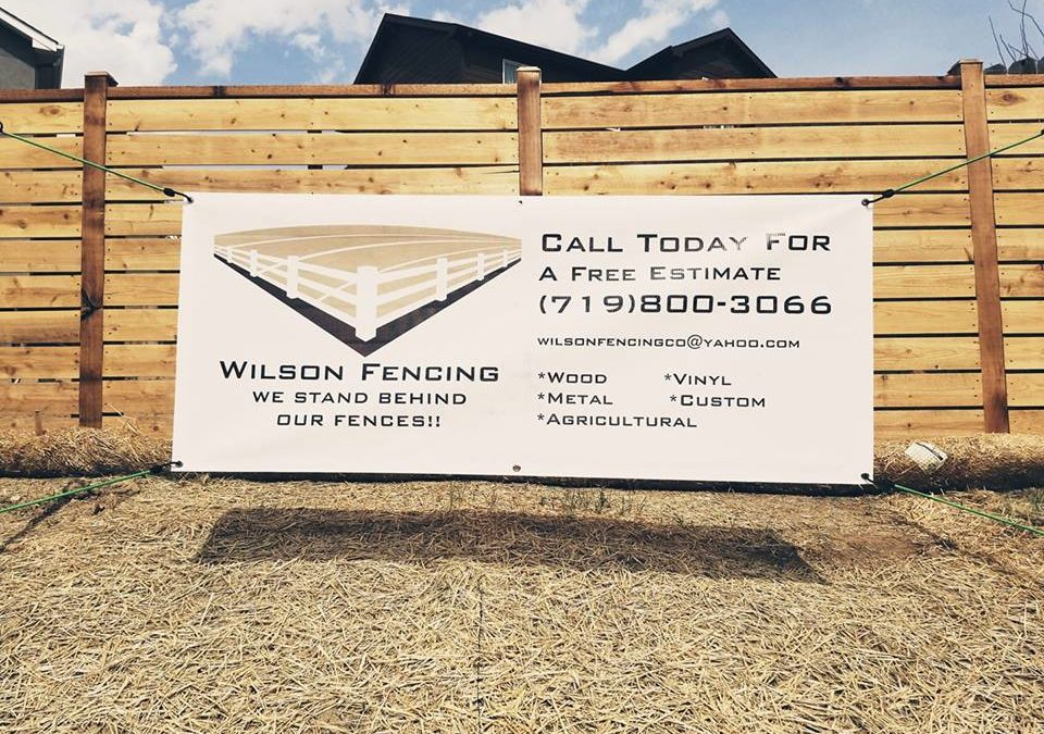 Colorado Springs Fences | Wilson Fencing
