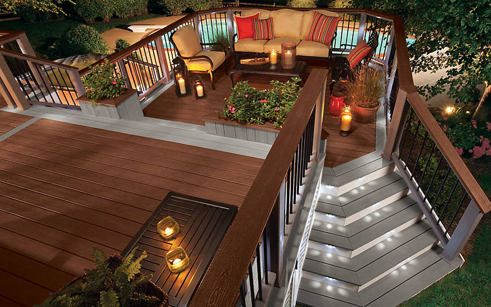 Adding Designs to Trex Decking