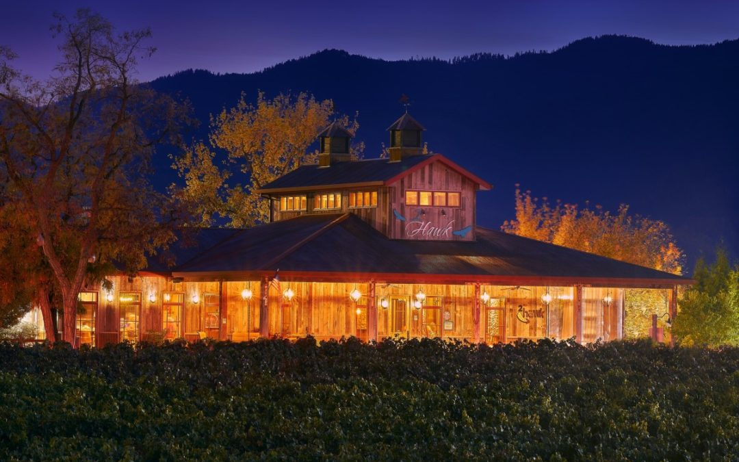 2Hawk Vineyard and Winery at Night