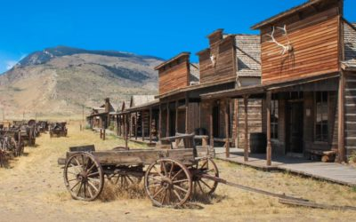 Capitol City Ghost Town – Reclaimed Wood