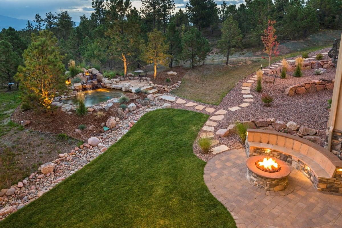 Step By Step Backyard Renovation - Rocky Mountain Forest ... on Mountain Backyard Ideas id=17194
