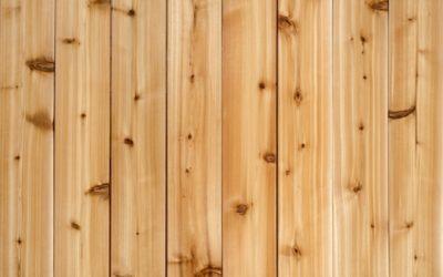 Por qué el cedro es la mejor opción de madera