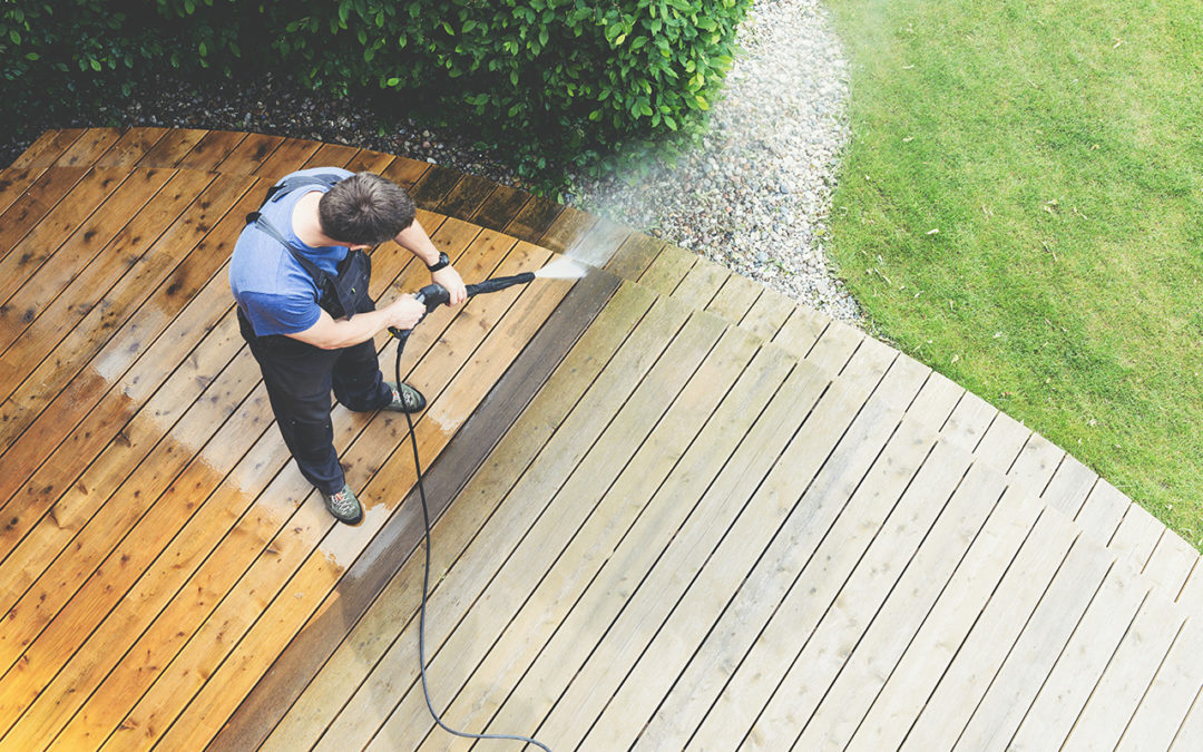 How do I protect my deck from sun damage?